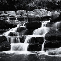 Buy canvas prints of water fall by Doug McRae