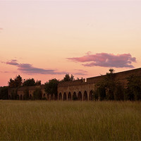 Buy canvas prints of Eaton Viaduct by Doug McRae