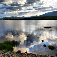 Buy canvas prints of Loch Rannoch, The Highlands by Sandi Cockayne - Dalescapes.