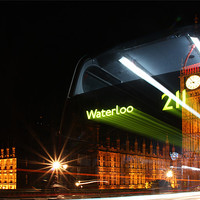 Buy canvas prints of The Waterloo 211 Bus by Sandi Cockayne - Dalescapes.