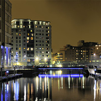 Buy canvas prints of Clarence Dock, Complete re-work by Sandi Cockayne - Dalescapes.