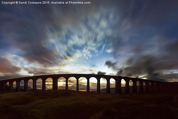 The Iconic Ribblehead Viaduct Canvas print by Sandi Cockayne