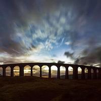 Buy canvas prints of  The Iconic Ribblehead Viaduct by Sandi Cockayne