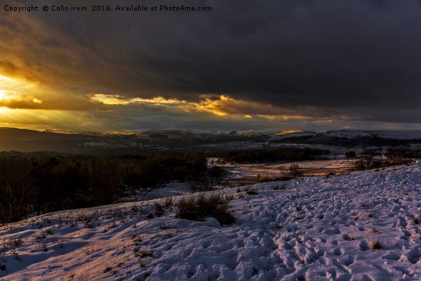 Hope Valley  Canvas Print by Colin irwin