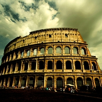 Buy canvas prints of Colosseum - Rome by Samantha Higgs