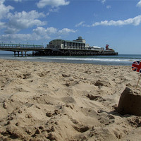 Buy canvas prints of Bournemouth Pier by Samantha Higgs