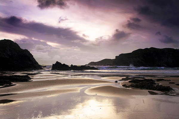 Trearddur Bay on the north of Anglesey, Wales Canvas print by Jennifer Mannion