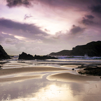 Buy canvas prints of  Trearddur Bay on the north of Anglesey, Wales by Jennifer Mannion