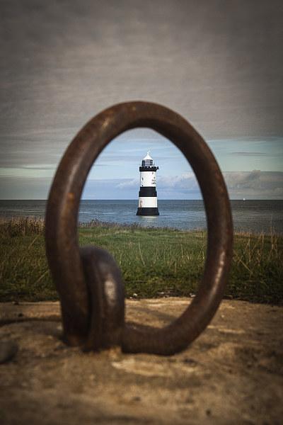 Trwyn Du Lighthouse Canvas print by Sean Wareing