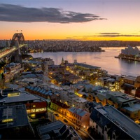 Buy canvas prints of Sydney Harbour by peter tachauer