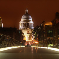 Buy canvas prints of St Pauls Panorama by peter tachauer
