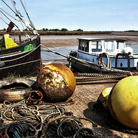 Buy canvas prints of Maldon Quayside by peter tachauer