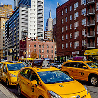 Buy canvas prints of Iconic New York by peter tachauer