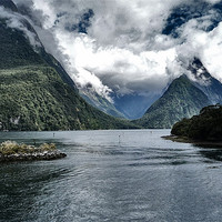 Buy canvas prints of Milford Sound by peter tachauer