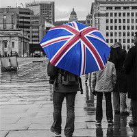 Buy canvas prints of British Weather by Dawn O'Connor