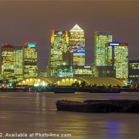 Buy canvas prints of London City Skyline by Dawn O'Connor