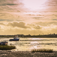 Buy canvas prints of Isle of Sheppey Seascape by Dawn O'Connor