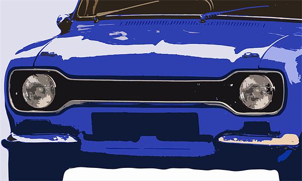 Ford Escort MK1 Canvas print by Anthony Michael Poynton