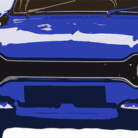 Buy canvas prints of Ford Escort MK1 by Anthony Michael Poynton
