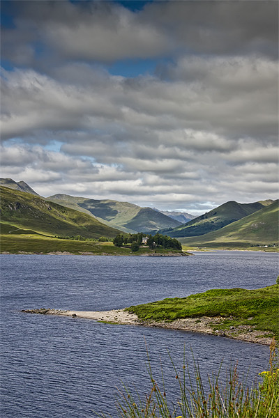 Scottish loch Canvas print by Sam Smith
