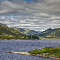 Buy canvas prints of Scottish loch by Sam Smith
