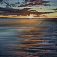Buy canvas prints of Beach Sunset by Sam Smith