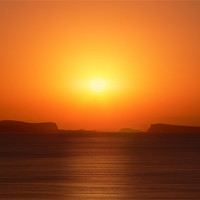 Buy canvas prints of Ibiza Sunset by Sam Smith