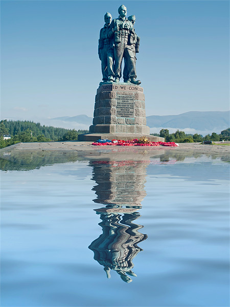 Commando Memorial Canvas Print by Sam Smith