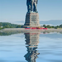 Buy canvas prints of Commando Memorial by Sam Smith