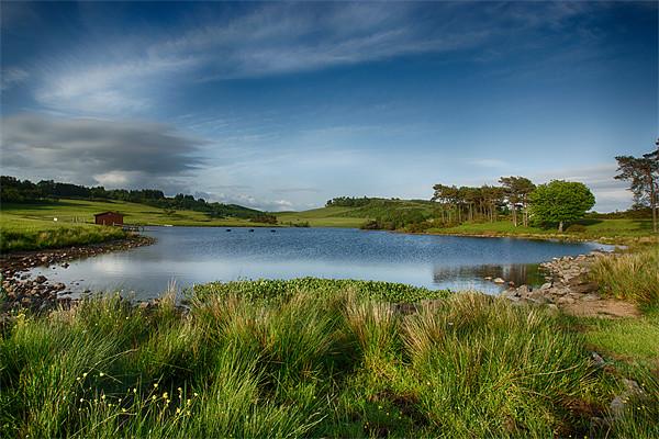 Knapps Loch Canvas print by Sam Smith