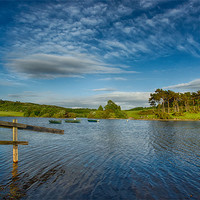 Buy canvas prints of Knapps Loch by Sam Smith