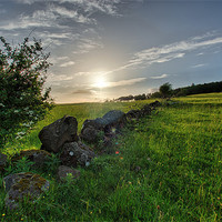 Buy canvas prints of Stone Wall by Sam Smith