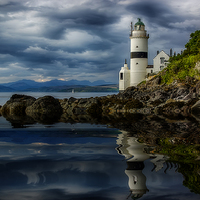 Buy canvas prints of The Cloch by Sam Smith