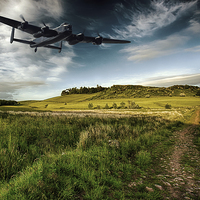 Buy canvas prints of Avro Lancaster by Sam Smith