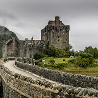 Buy canvas prints of Eilean Donan Castle by Sam Smith