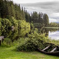 Buy canvas prints of Loch Ard by Sam Smith