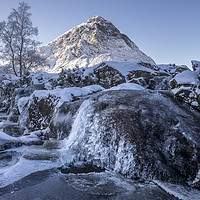 Buy canvas prints of Buachaille waterfall by Sam Smith