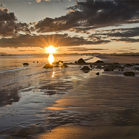 Buy canvas prints of Coastal Sunset by Sam Smith