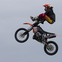 Buy canvas prints of Stunt show by Sam Smith