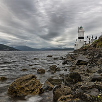 Buy canvas prints of Cloch lighthouse by Sam Smith
