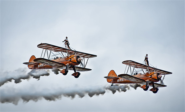 Wing Walkers Canvas print by Sam Smith