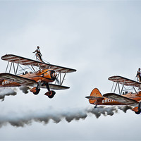 Buy canvas prints of Wing Walkers by Sam Smith