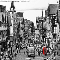 Buy canvas prints of Foregate Street Chester by Ian Tomkinson