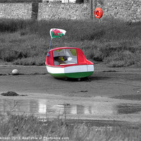 Buy canvas prints of Welsh Boat by Ian Tomkinson