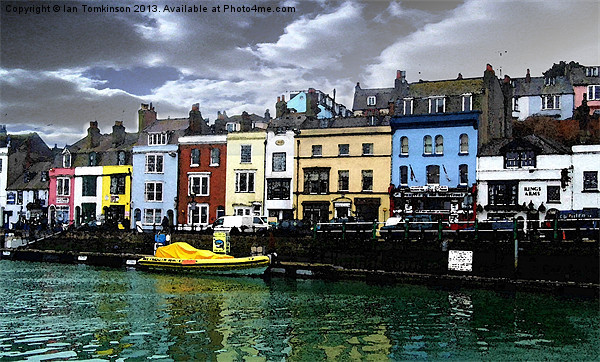 Weymouth Marina Canvas print by Ian Tomkinson