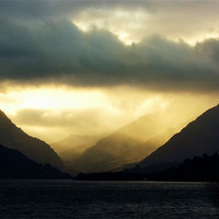 Buy canvas prints of Moody Morning by Ian Tomkinson