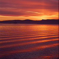 Buy canvas prints of Red Sky at Night by james sanderson