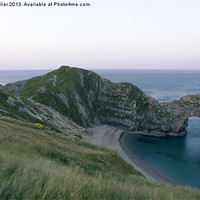 Buy canvas prints of Durdle Door & Jurassic Coast Dorset by Jim Hellier