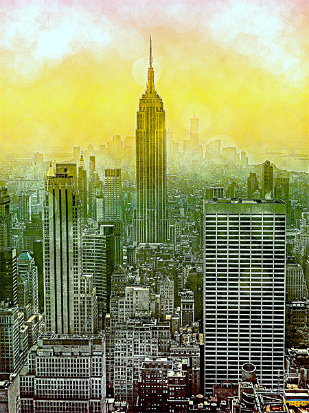 New York New York Canvas print by Louise Godwin