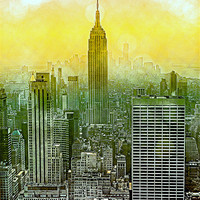 Buy canvas prints of New York New York by Louise Godwin